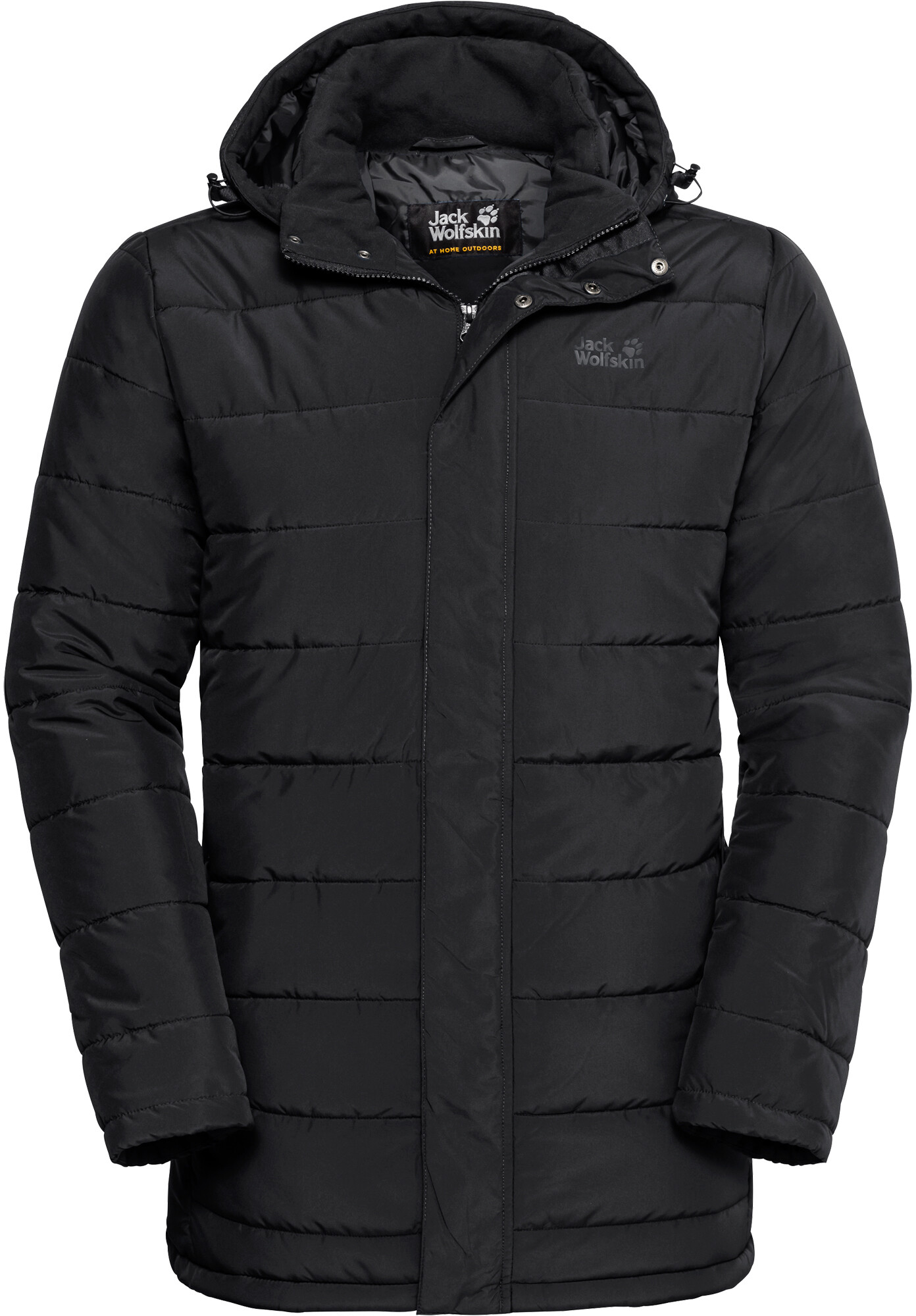 Jack Wolfskin Svalbard Coat Men black   campz.de b84618cf40